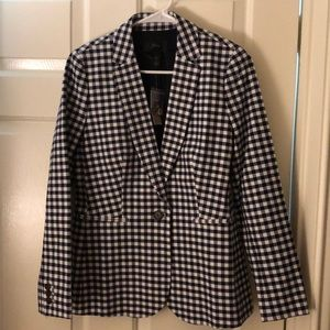 J.Crew Women's Checkered Parke Blazer Size 2